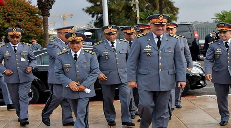 الجنرال حرمو يعصف بضباط كبار في جهاز الدرك
