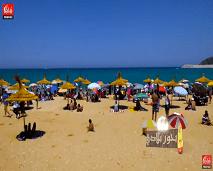 """بحور بلادي : عيشوا متعة الصيف على شاطئ """"كابيلا"""" بالمضيق"""