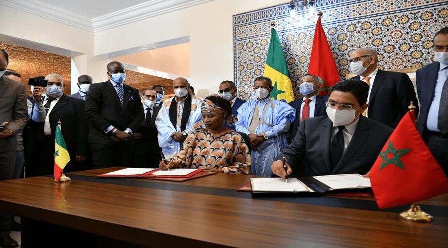 بوريطة ونظيرته السنغالية يوقعان بالداخلة على اتفاقيات تعاون