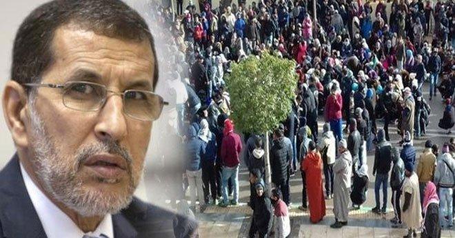 """العثماني يعلن من وجدة عن """"قرارات هامة"""" لاحتواء احتجاجات سكان مدينة جرادة"""