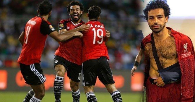 طبيب المنتخب المصري يحسم الجدل بخصوص مشاركة صلاح في المونديال