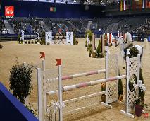 خيول يزور معرض الفرس الذي يعكس تاريخ الخيل بالمغرب
