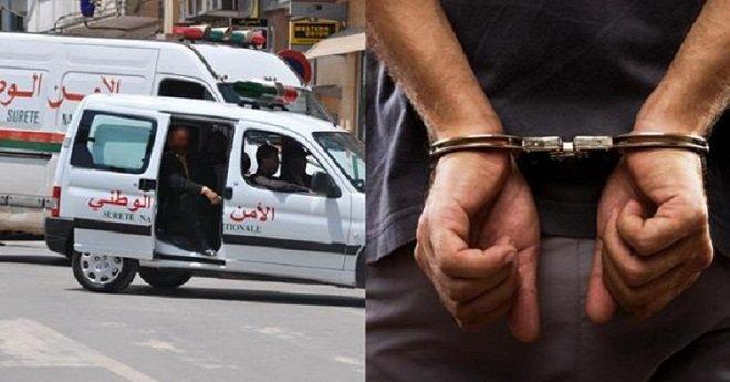 إيقاف طالب قتل زميله وعلقه بحبل لتضليل العدالة بالقنيطرة