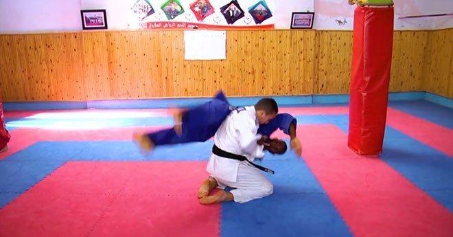 فيديو..قصة عائلة يحترف كل أبنائها رياضة الجودو