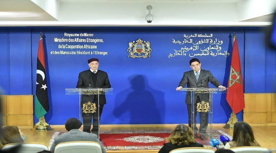 المغرب يدعو إلى التسريع بتشكيل الحكومة المؤقتة في ليبيا