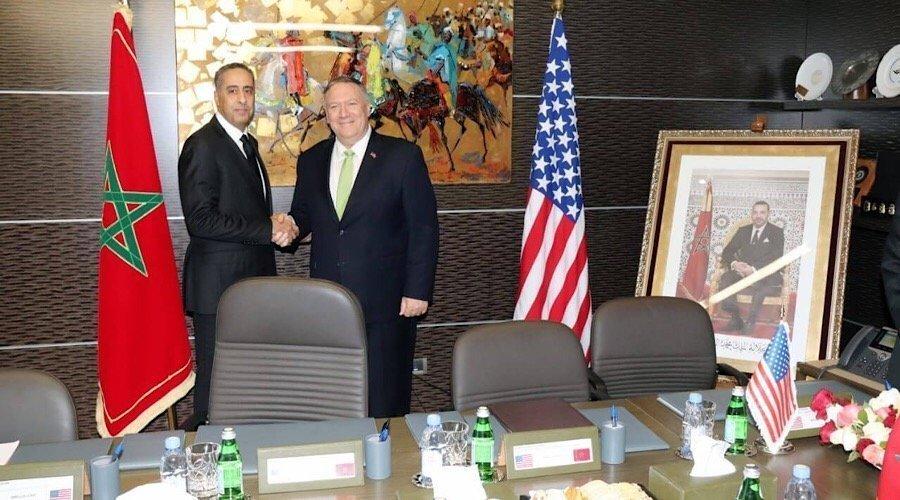 الحموشي يجري مباحثات مع وزير الخارجية الأمريكي بمقر الديستي