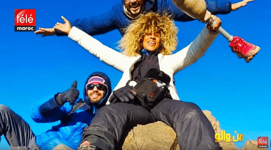 من والو: قصة شابة استطاعت تسلق أعلى قمة في المغرب برجل اصطناعية