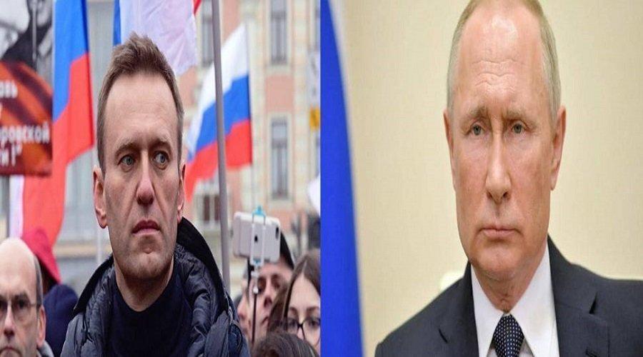 المعارض الروسي نافالني يتهم بوتين بالوقوف وراء تسميمه