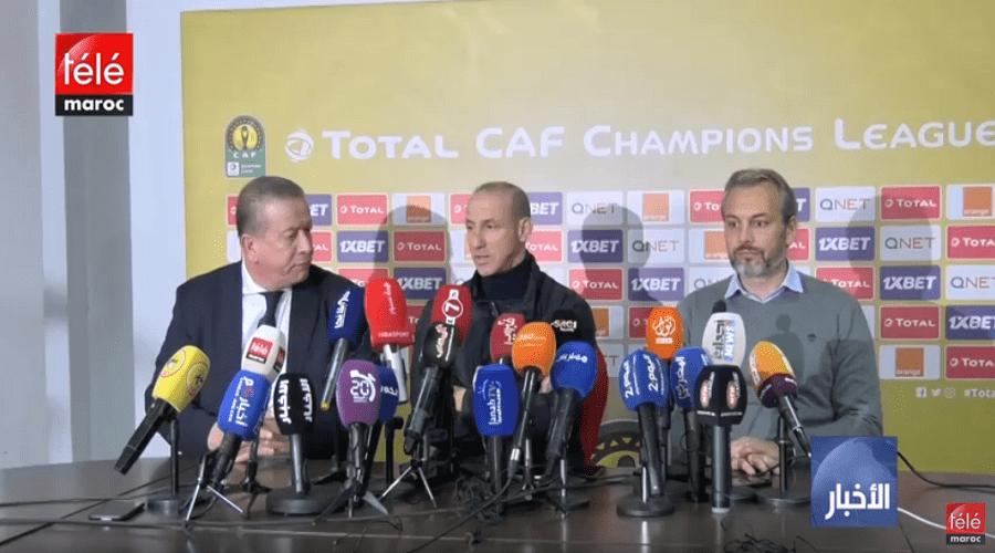 الوداد الرياضي يتفوق على اتحاد العاصمة الجزائري ويبلغ دور ربع النهائي