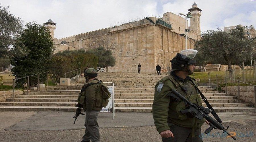 سلطات الاحتلال الإسرائيلي تغلق الحرم الإبراهيمي بحجة الأعياد اليهودية