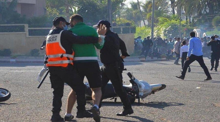 اعتقالات بالجملة في صفوف رجاويين خرقوا بروتوكول منع التجمهر