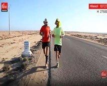 تابعوا سباق ضد السرطان مع طارق المليح و أمين آيت المودن