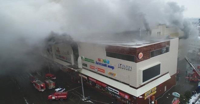 روسيا.. 53 قتيلاً على الأقل في حريق بمركز للتسوق