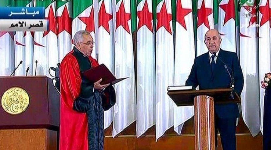 تبون يؤدي اليمين الدستورية رئيسا للجزائر