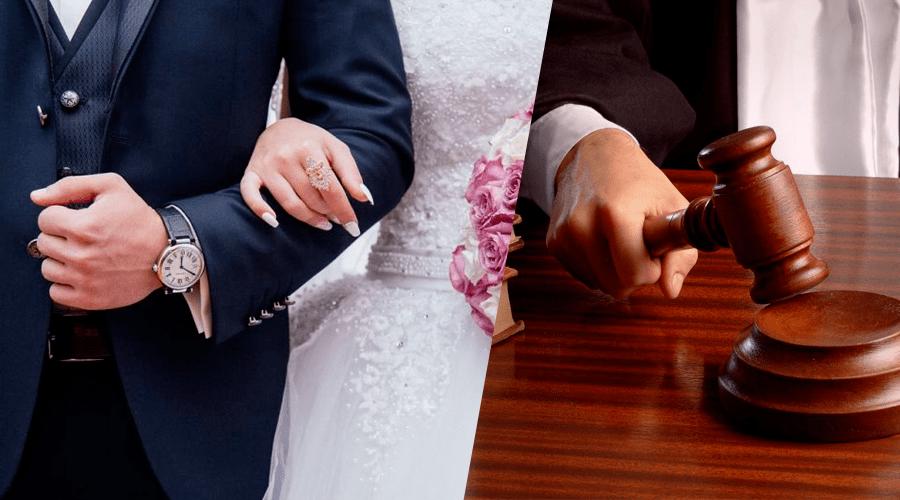 محكمة تقضي بإعادة رجل إلى بيت الزوجية