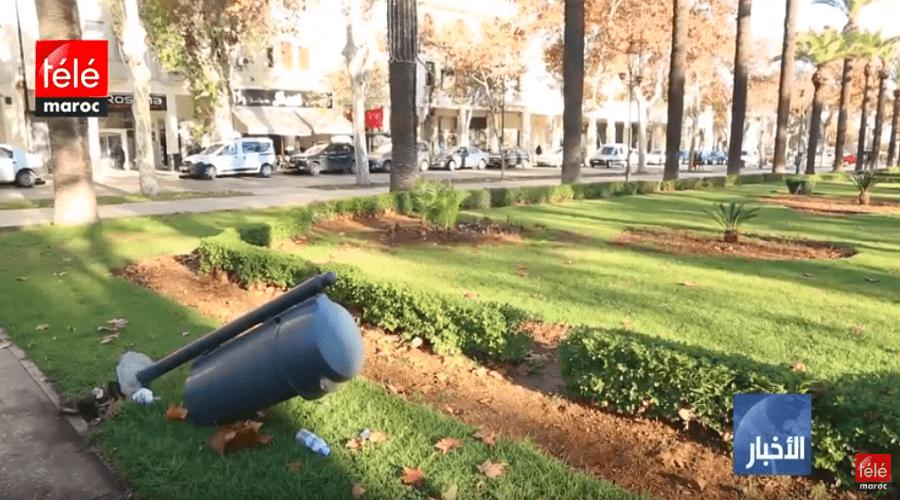 تراكم النفايات وحاويات مكسورة، مظاهر تؤرق ساكنة فاس