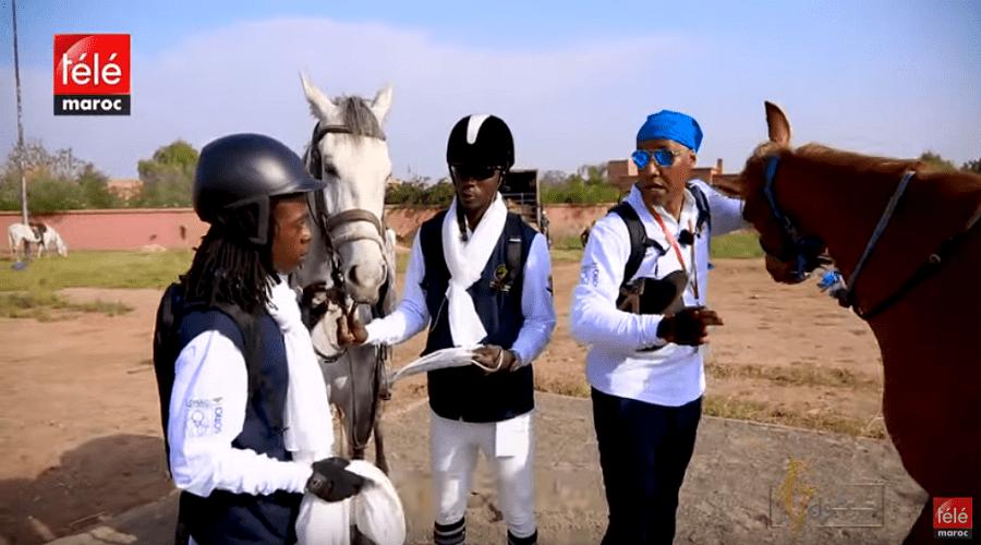 خيول لعشاق الخيل والتبوريدة حلقة جديدة من برنامج خيول مع أجواء طواف المغرب للفروسية بمراكش