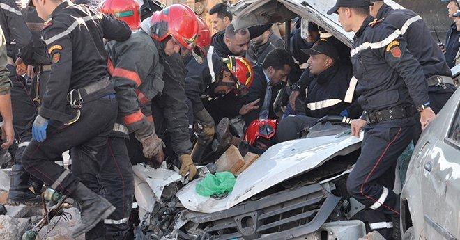 عاجل..حادث انهيار جدار مصنع بالدار البيضاء يخلف عدة ضحايا