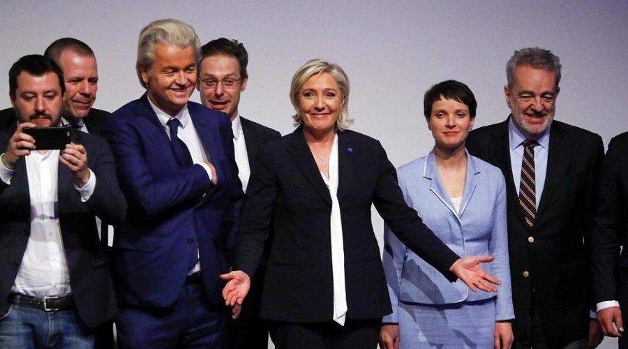 """اجتماع طارئ لزعماء اليمين المتطرف الأوروبي من أجل """"إنقاذ أوروبا """""""