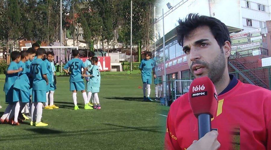 مدربون إسبان من اكاديمية مارسيت العالمية يختبرون مهارات أبناء المدينة القديمة في كرة القدم