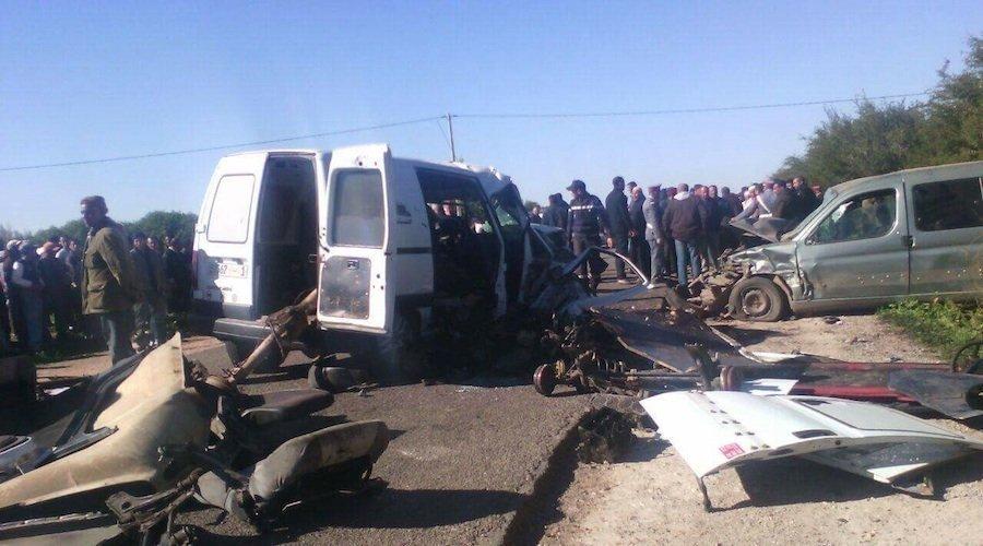 إصابة 35 شخصا في حادثة سير بين سطات والبروج