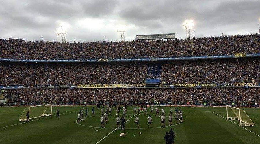 حضور قياسي لجماهير البوكا خلال حصة تدريبية للفريق قبل النهائي