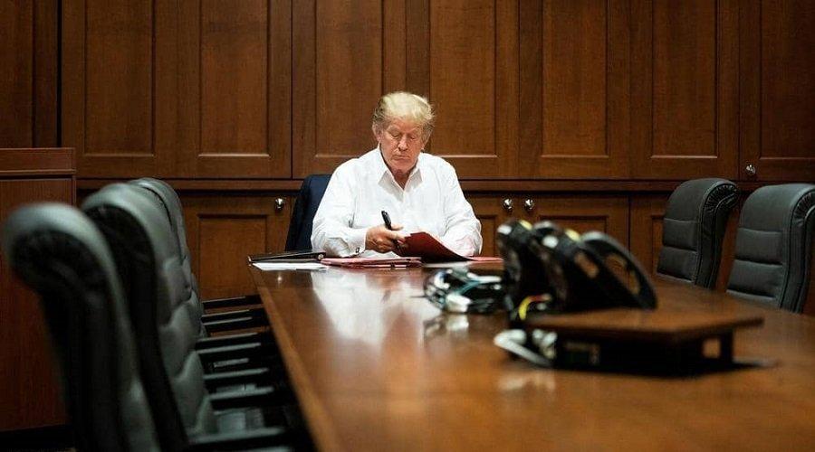 ترامب يؤكد أنه سيعود قريبا وإيفانكا تنشر صورته من داخل المستشفى