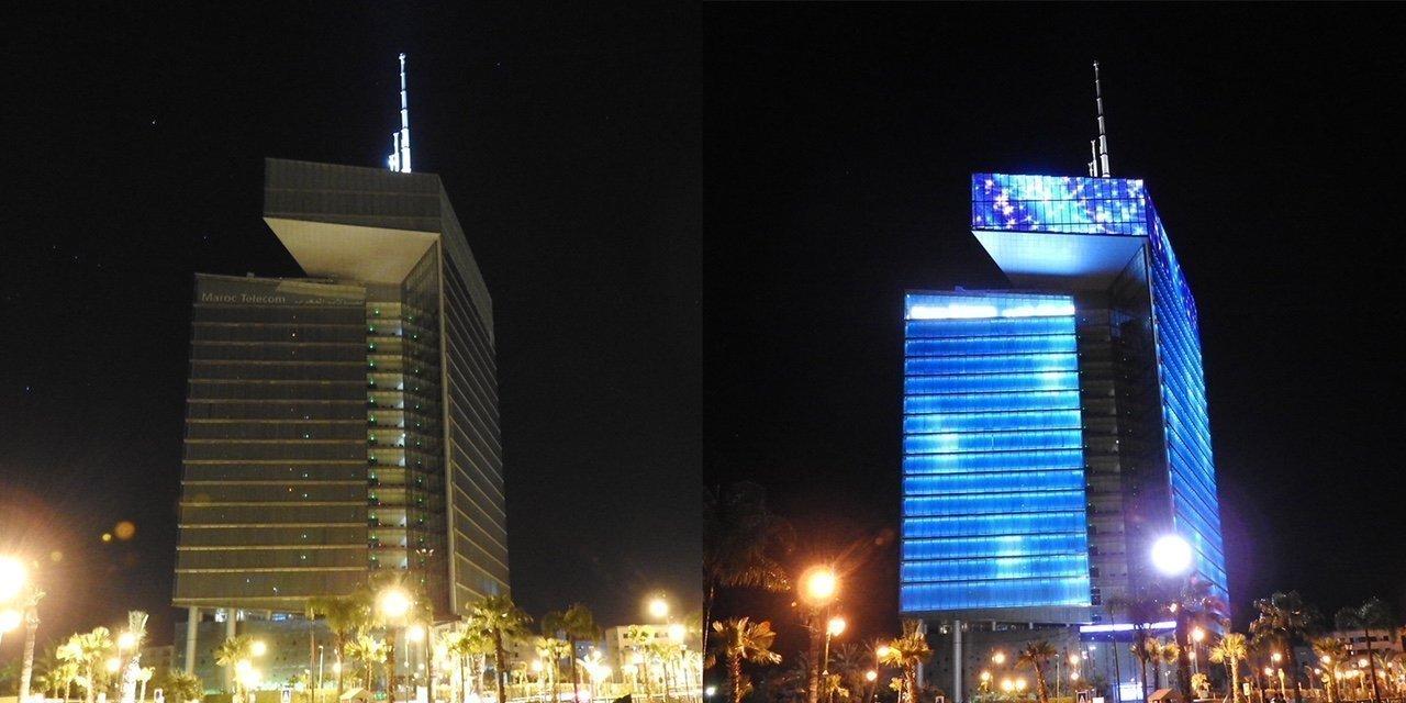 لهذا السبب سوف تخبو أضواء برج اتصالات المغرب
