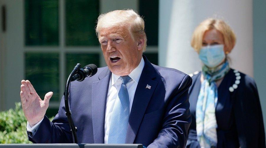 ترامب يتهم الصين بانعدام الكفاءة في تدبير كورونا مما تسبب في مقتل كثيرين
