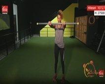 رياضة اليوم: حركات رياضية لشد عضلات الذراعين