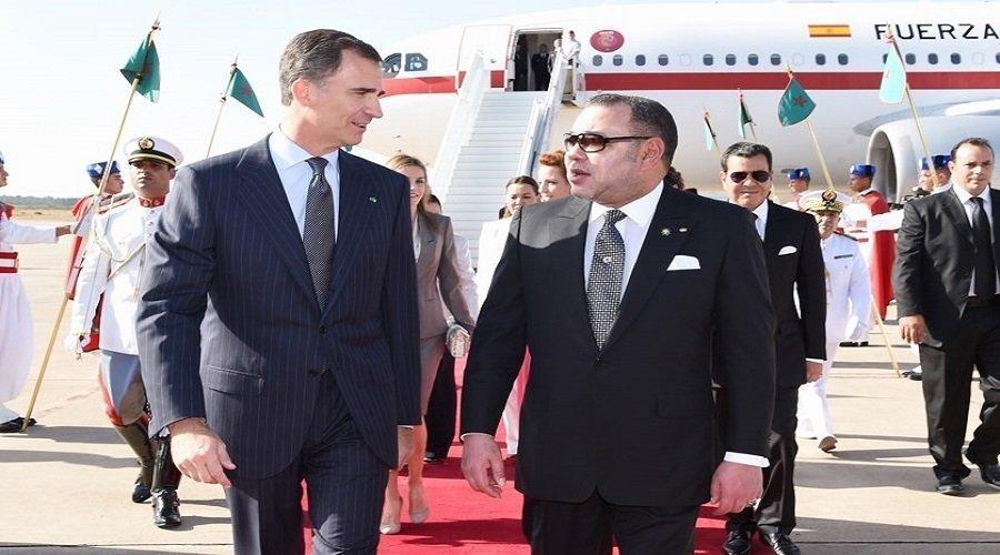 ملك إسبانيا في زيارة رسمية للمغرب في هذا التاريخ