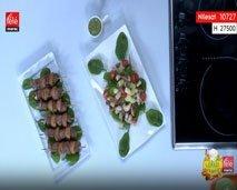 """وصفتان رائعتان من المطبخ الإيطالي: """"سلطة بصلصة البيتشو"""" و""""قضبان اللحم"""""""