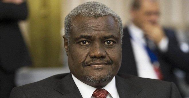 """رئيس مفوضية الاتحاد الإفريقي: """" إفريقيا استعادت وحدتها بعودة المملكة المغربية للاتحاد الإفريقي """""""