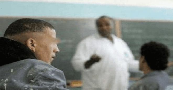 تلميذ يعتدي على أستاذ مكلف بالحراسة أثناء امتحانات الإعدادي بسلا