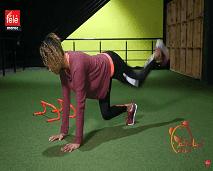 حركات رياضية لأسفل الجسم مع كلثوم اضمير