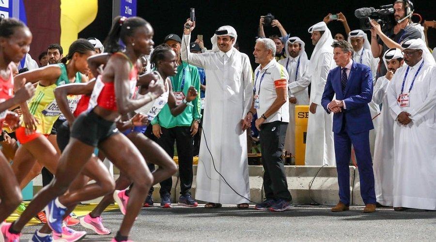 """""""جيش مغربي"""" يساهم في نجاح دورة قطر"""