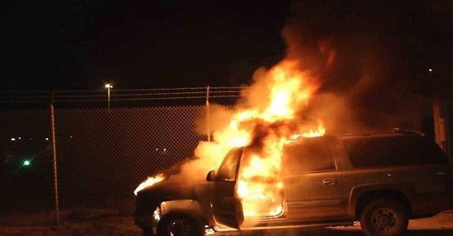 إضرام النار في سيارة مستشار جماعي ببرشيد