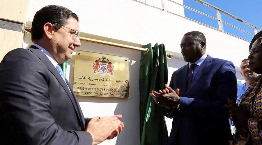 الجزائر منزعجة جدا من فتح غامبيا قنصليتها بالداخلة