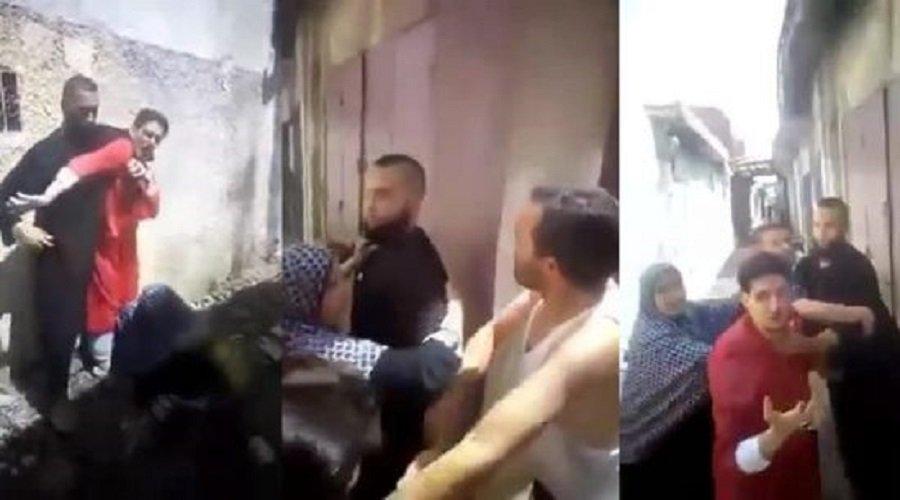 بالفيديو.. شجار دام بين راقيين بسبب زبونات بفاس