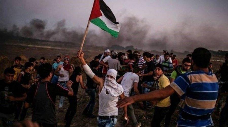 """ذكرى """"النكبة"""".. إصابة 33 فلسطينيا برصاص الاحتلال في مسيرات العودة بغزة"""
