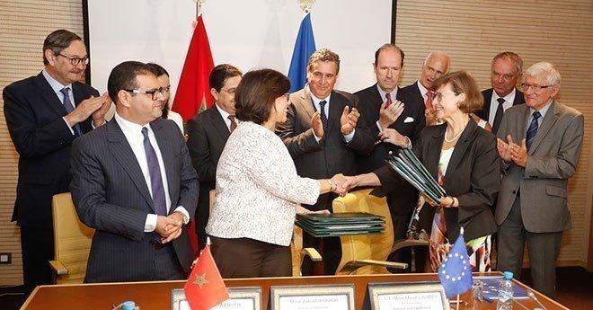 التوقيع بالأحرف الأولى على اتفاقية الصيد البحري بين المغرب والاتحاد الأوربي