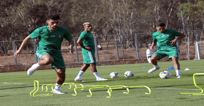 المنتخب الوطني المغربي يجري آخر حصة تدريبية قبل مواجهة جزر القمر