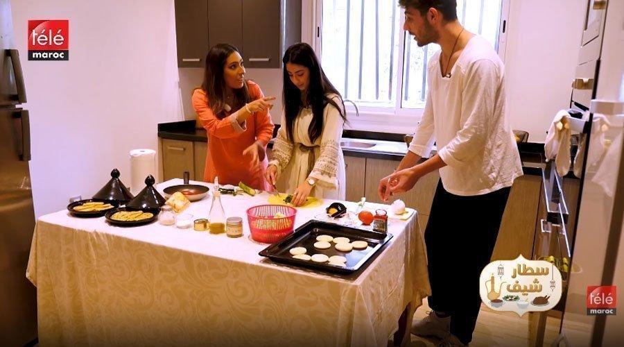 كاظم وماريا كيناقشوا أفكارهم المتعارضة على حفل الزفاف