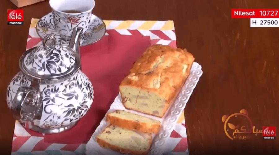 شهيوة: كيك بالبوعويد وجبنة الروكفور