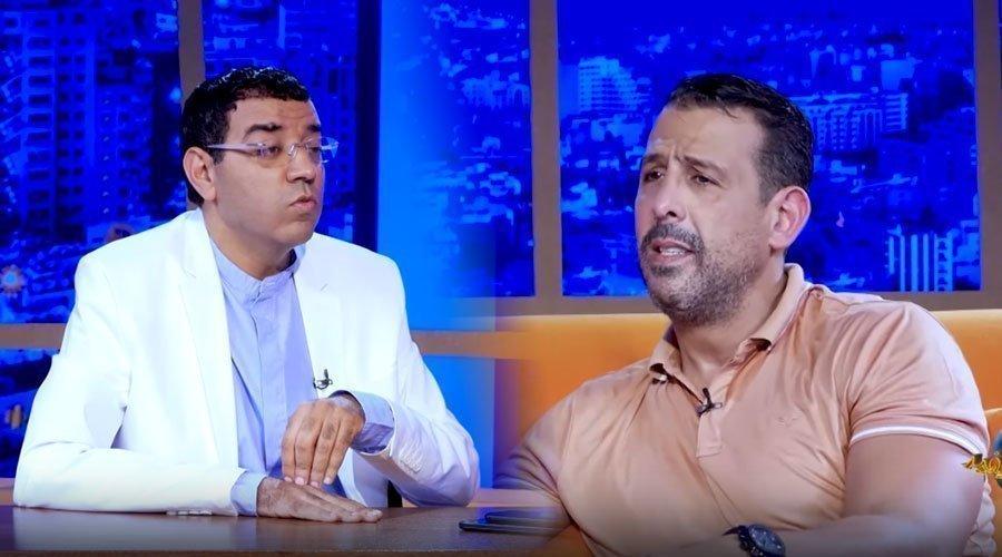 مثير..العشابي يسأل مصطفى لخصم عن تهمة حرق زوجته بماء القاطع ويفر هاربا خارج بلاطو عندي مايفيد
