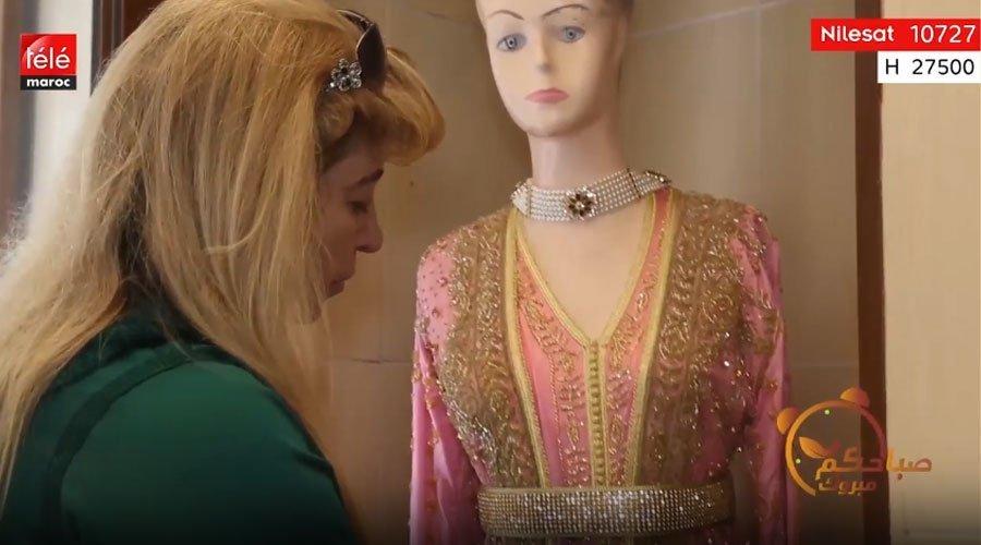 91e96d159cc7d نادية العيدي تحكي عن ولعها بتصميم الأزياء - تيلي ماروك
