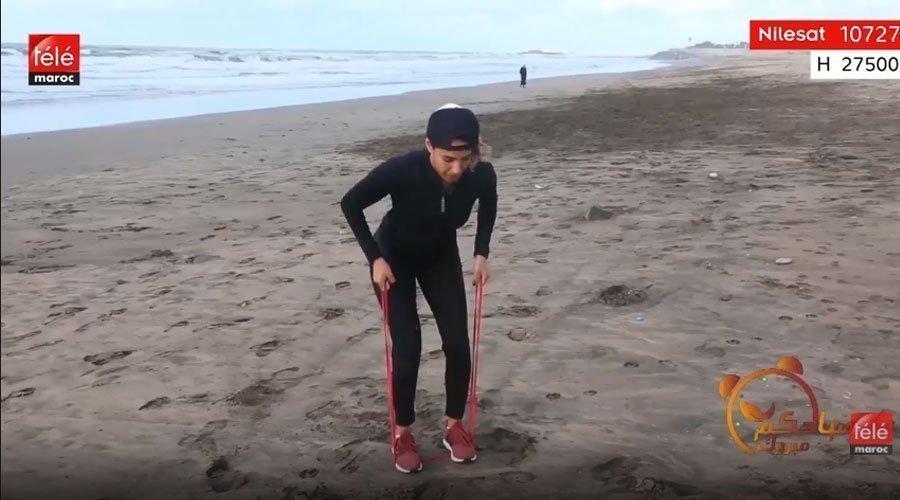 تمارين مفيدة للحصول على جسم مشدود مع كثوم أضمير