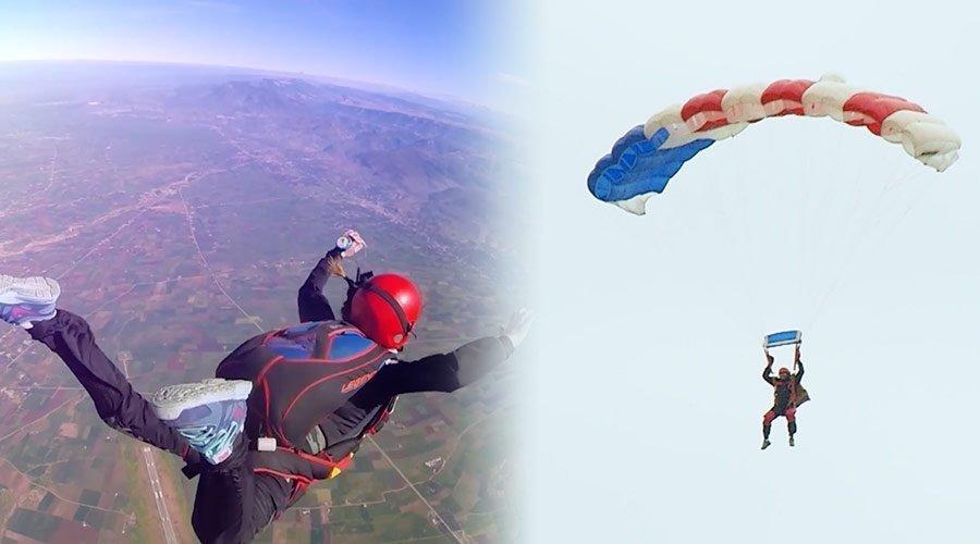 """اكسيجين : أجي نتعرفو على أول مدرسة لرياضة """"Parachutisme"""" بالمغرب"""